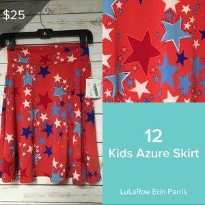 Size 12 Kids Azure skirt